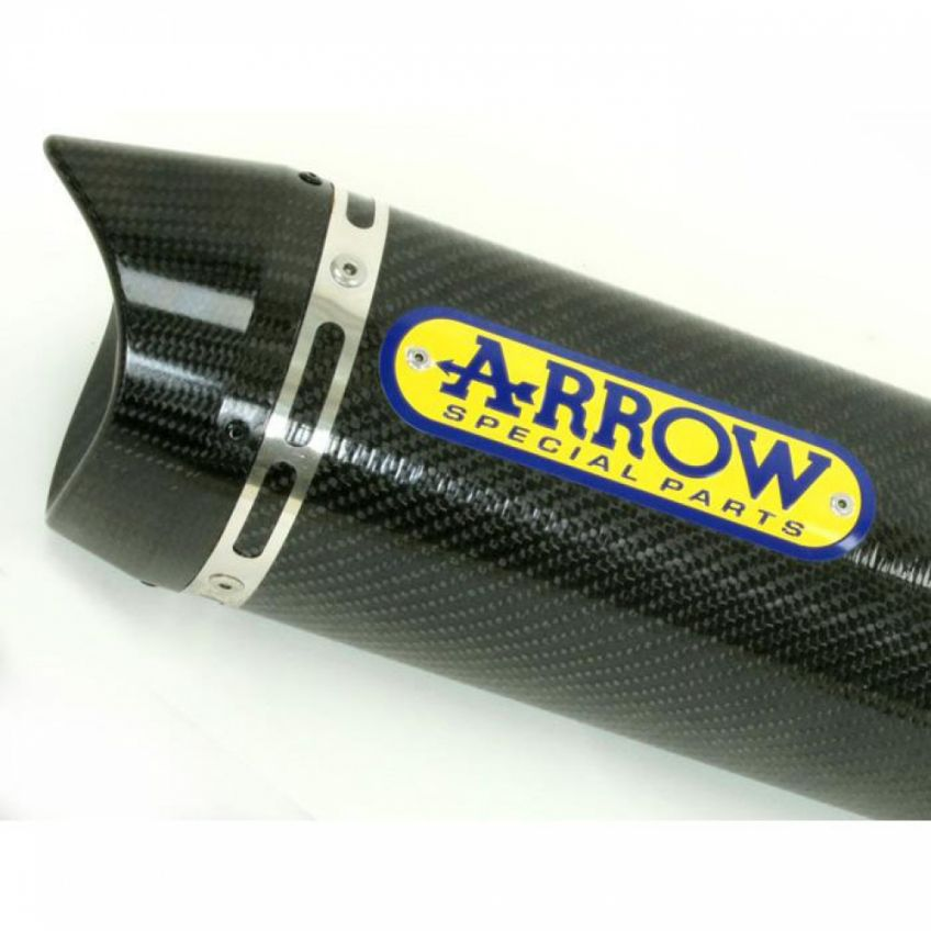 Yamaha MT-07 2014-2020 Full ARROW Exhaust system with All Carbon fibre silencer