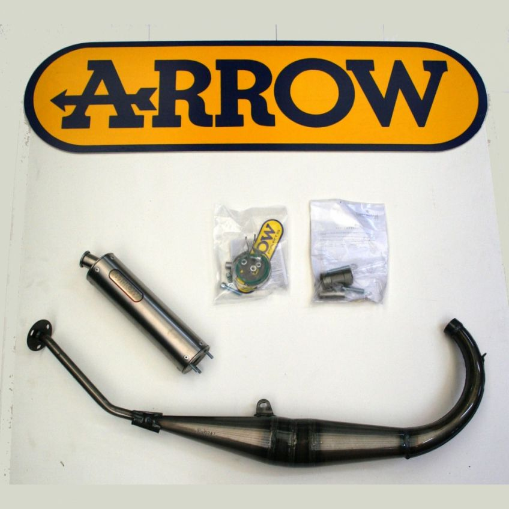 APRILIA RS50 99-06 Full ARROW system with titanium silencer