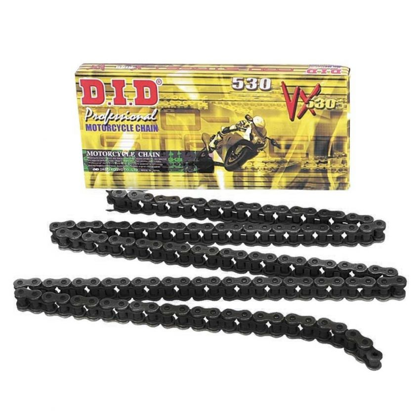 DID 530 VX Steel Coloured X-Ring Chain