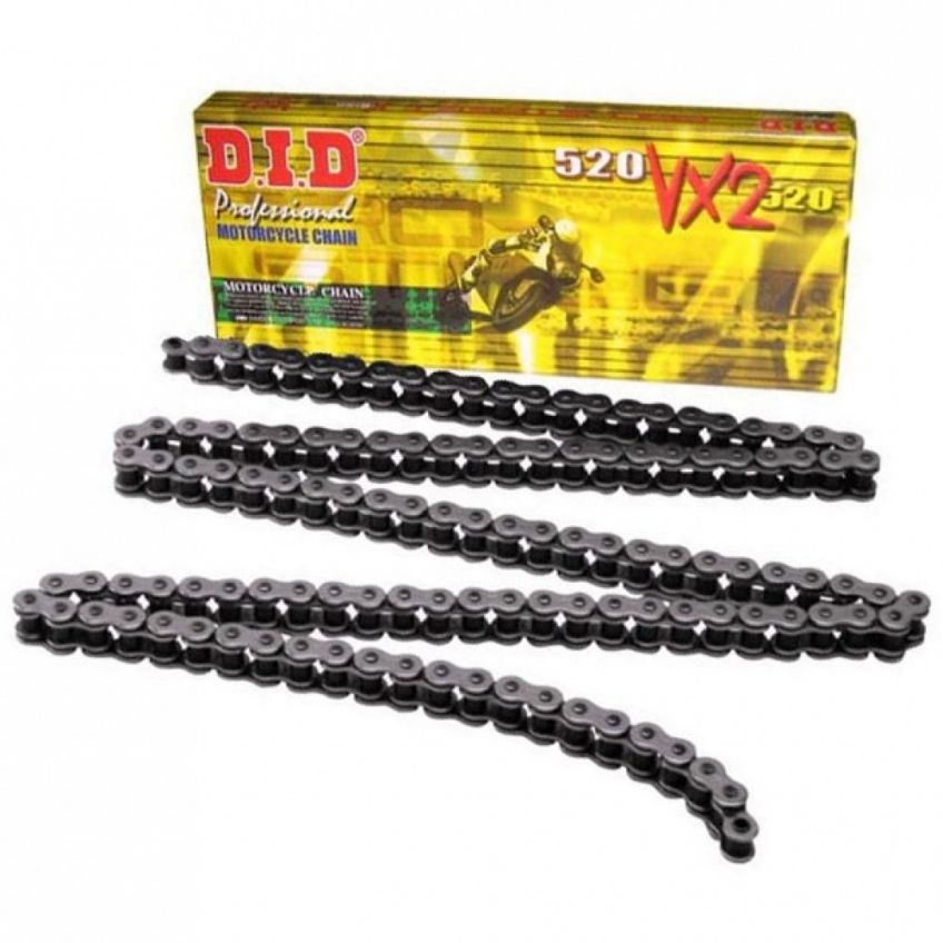 DID 520 VX Steel Coloured X-Ring Chain