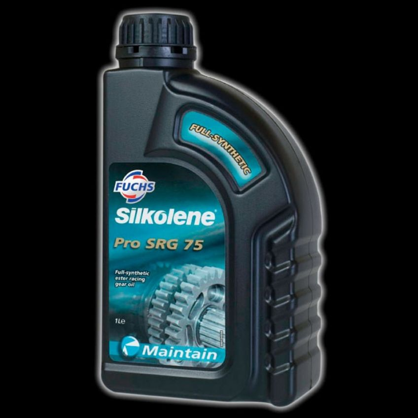 Silkolene Pro SRG 75 - Fully synthetic Racing motorcycle gearbox / gear oil