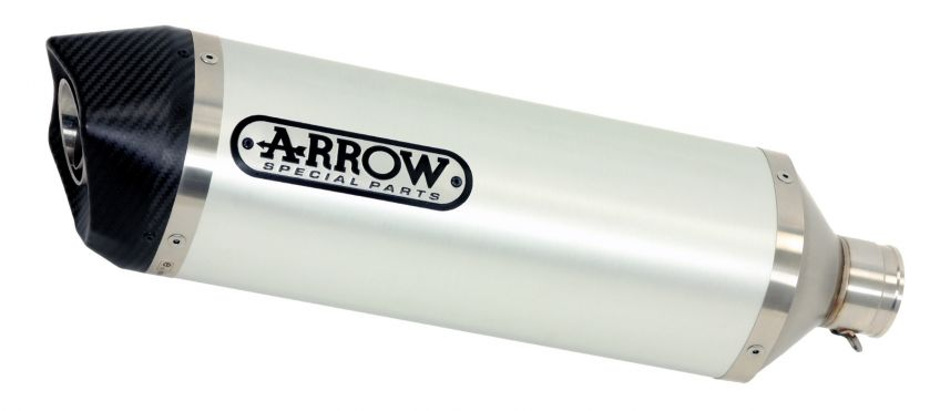 Arrow Aluminium/Carbon silencer