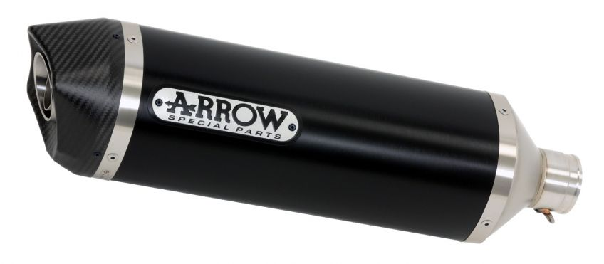 Arrow Dark Aluminium/Carbon silencer