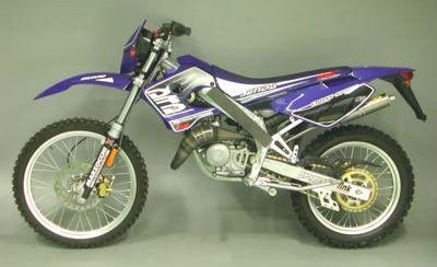 DERBI DRD Edition SM50 05-06 Full system titanium road approved silencer (high level)