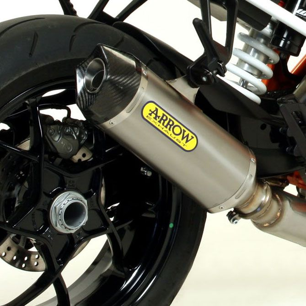 KTM 1290 Super Duke R 2014-2016 Arrow Titanium / Carbon silencer