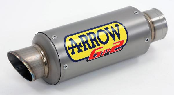 ARROW Titanium GP2 Silencer