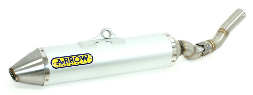 Sherco SE 4.5 i-F 2011 ARROW Aluminium 94db race silencer to fit to original collector