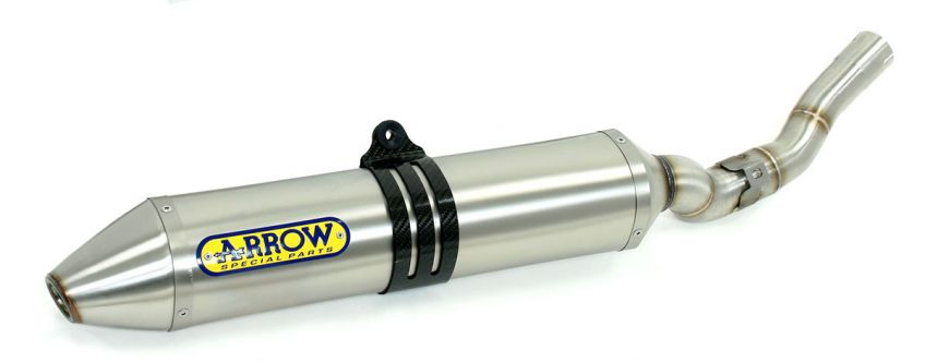 KTM 250 EXC 4 stroke 2008 ARROW Oval titanium race silencer