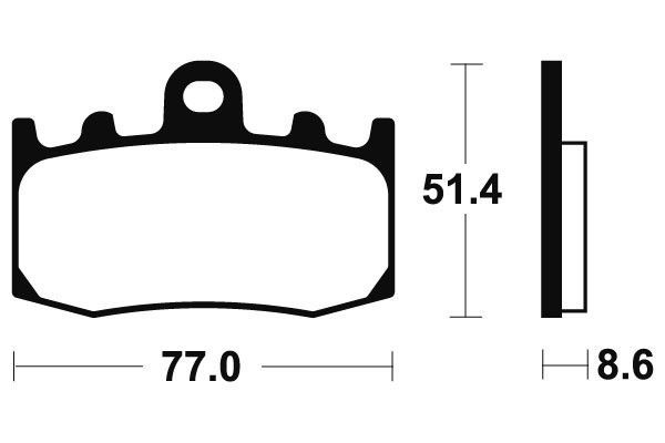 BMW R1200GS Brembo Sintered Front Brake Pads