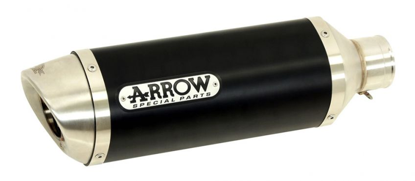 ARROW Dark Aluminium Silencer