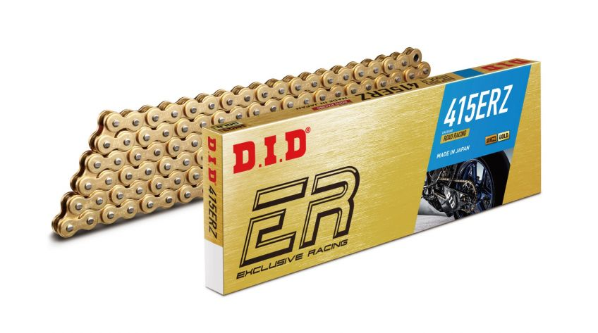 DID 415ER Road Race Gold Chain - 136 links