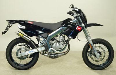 DERBI DRD Edition SM50 05-06 Full system titanium road approved silencer (low level)