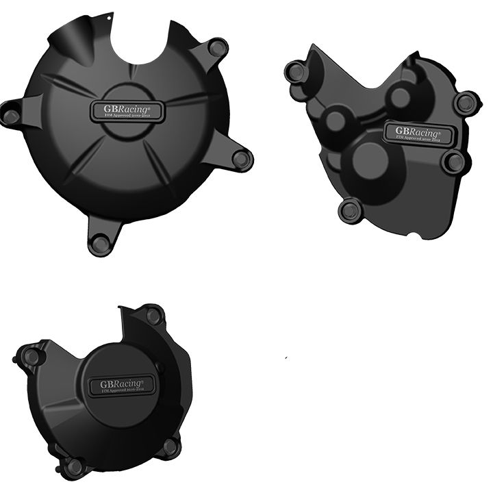 KAWASAKI ZX-6R | ZX636 2013 - 2016 GB RACING ENGINE COVER SET