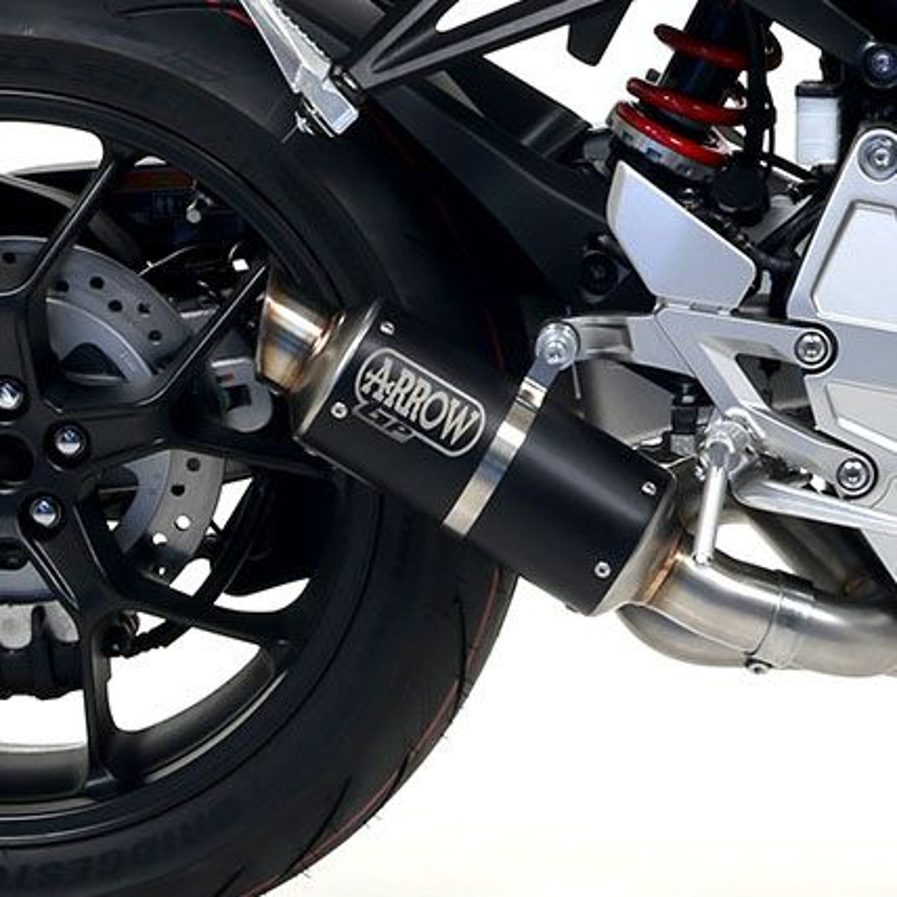 Honda CB1000R ARROW GP2 Dark Steel Silencer