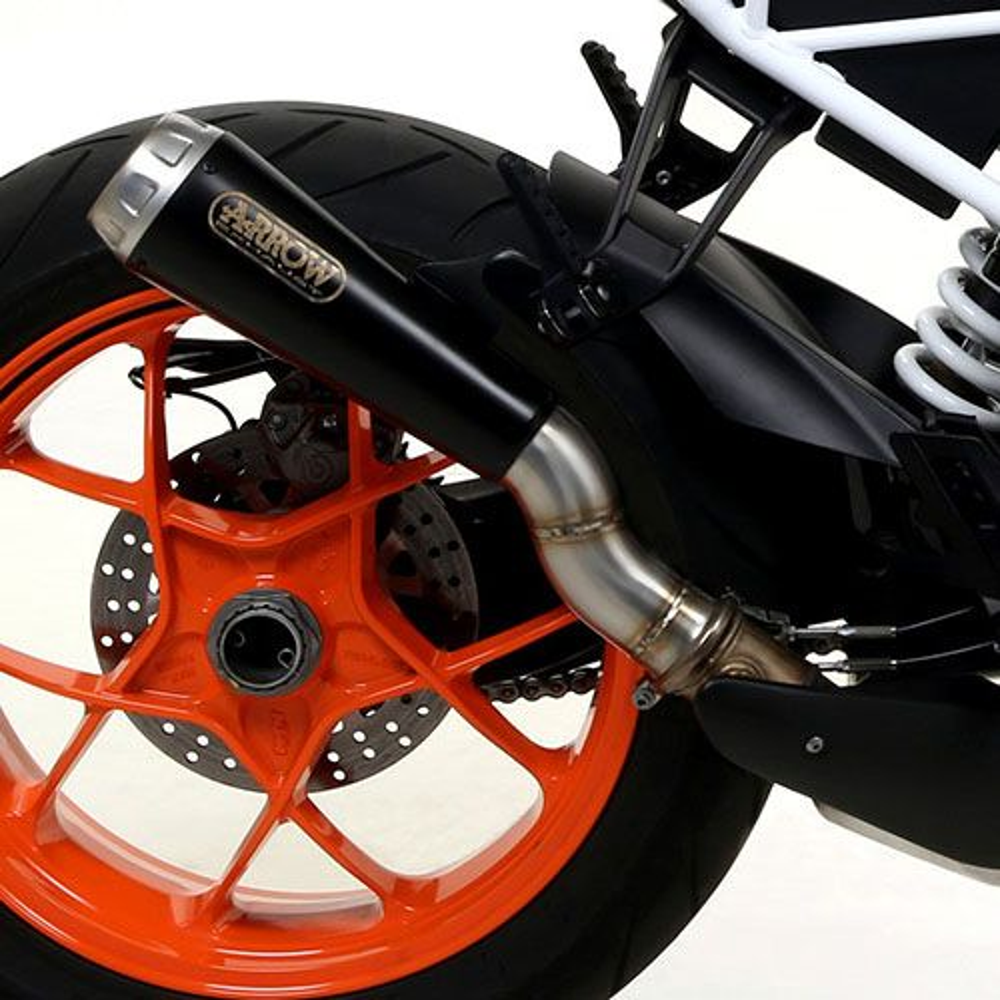 KTM 1290 Super Duke R Arrow Dark Steel Pro Race Cone Silencer