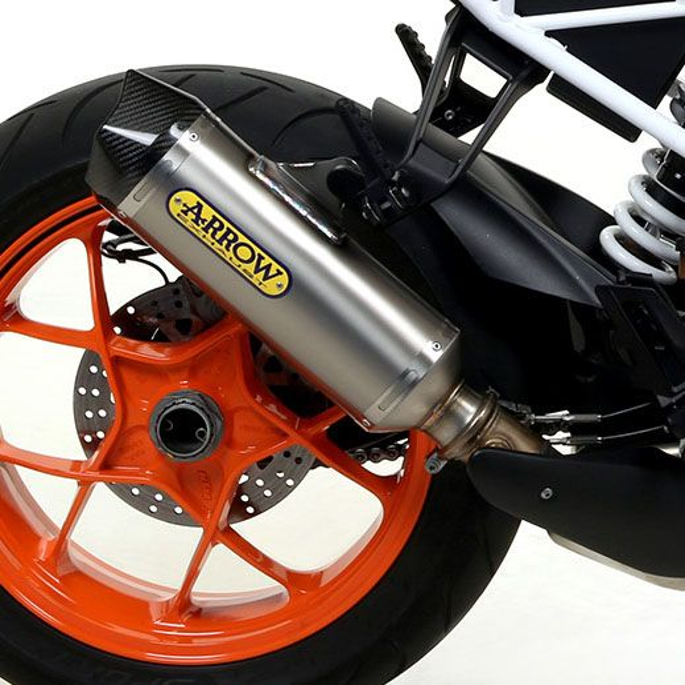 KTM 1290 Super Duke R Arrow Titanium / Carbon silencer