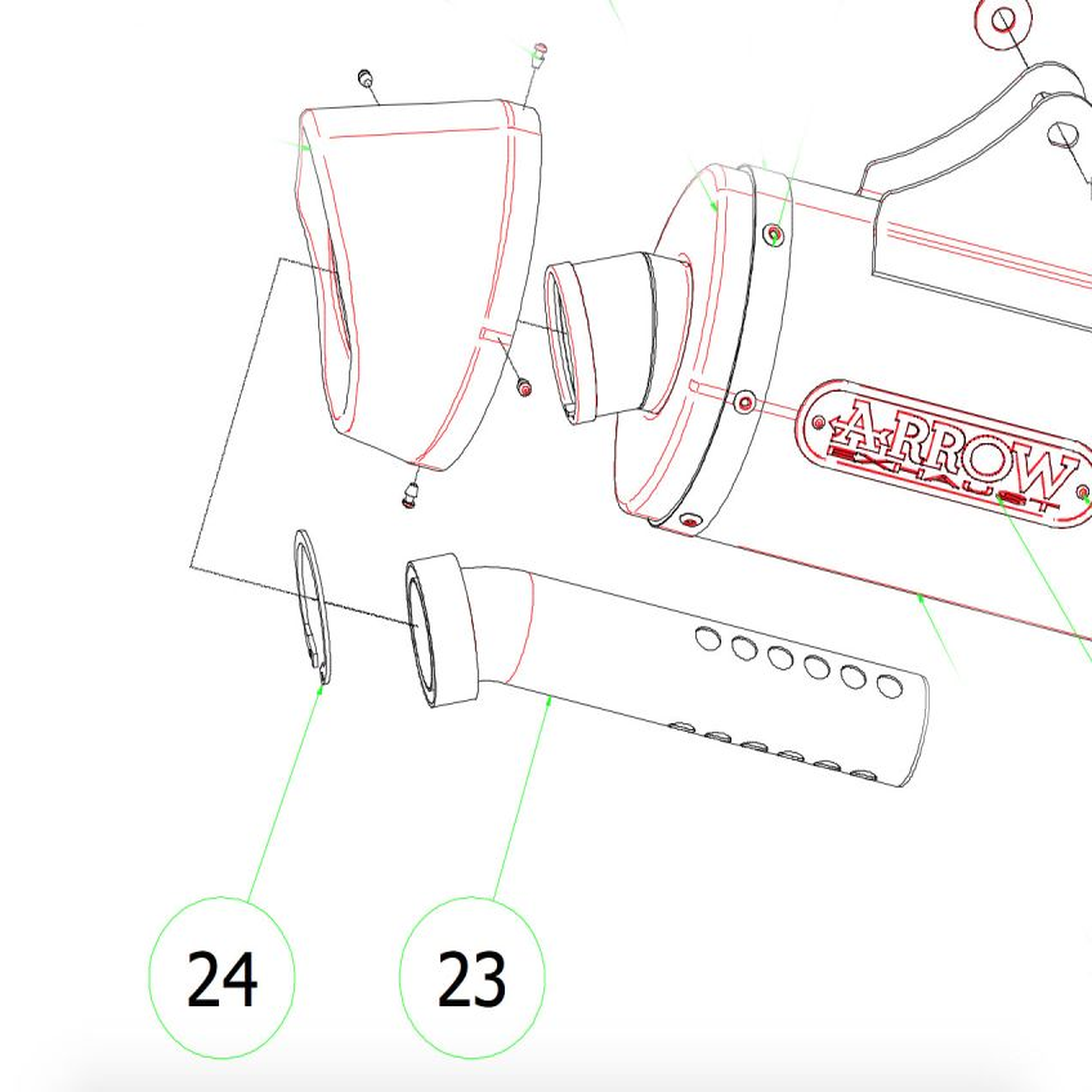 KTM 1290 Super Adventure ARROW Baffle   db Killer