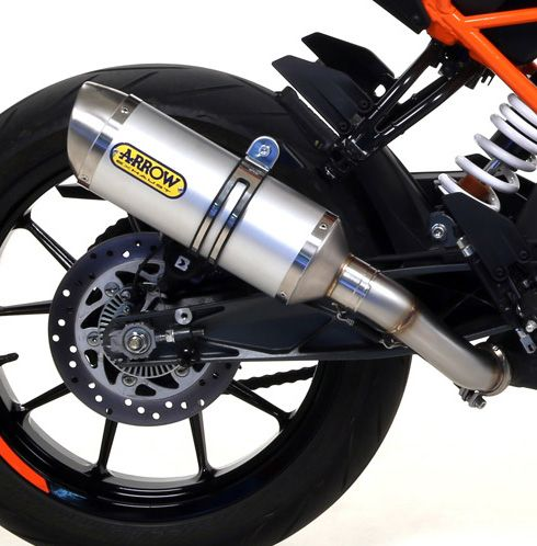KTM 125 Duke 2017 ARROW Aluminium Silencer