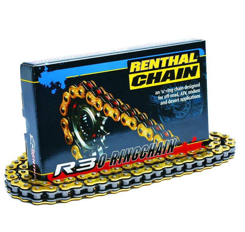 Renthal R3 520 Gold SRS O-Ring Road Chain