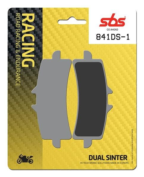 SBS 841DS Dual Sinter Front Brake Pads