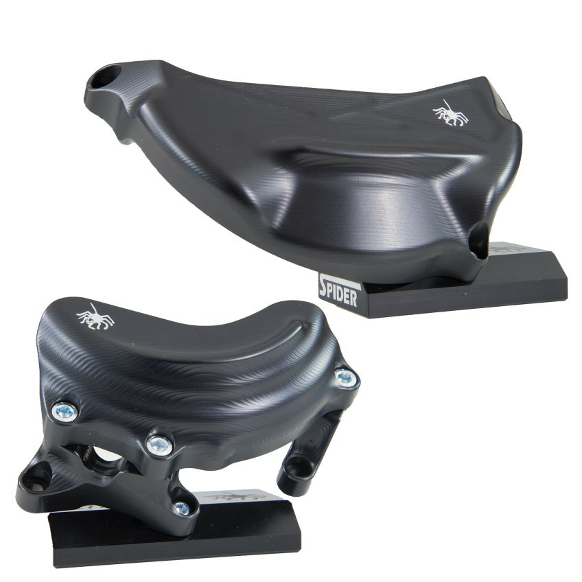 SPIDER Engine Protection Cover Set DUCATI V4 PANIGALE