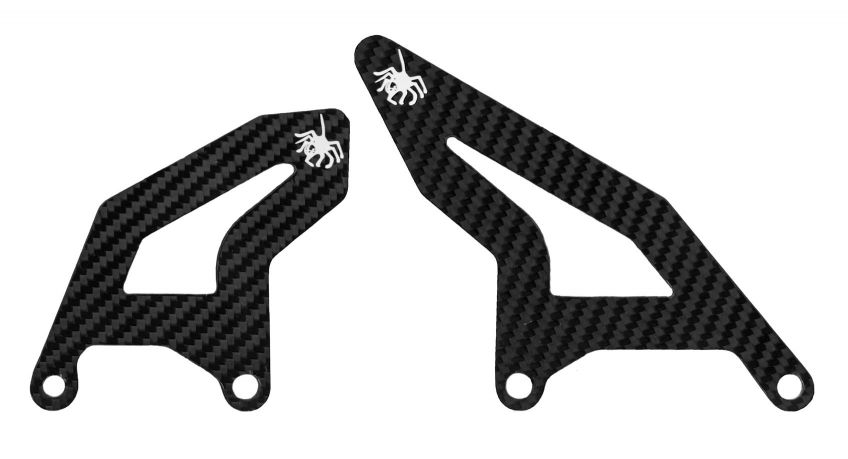 SPIDER Carbon Heel Guard Set