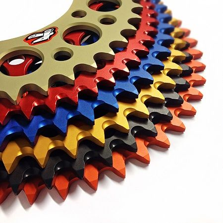 Anodised Rear Renthal Sprocket Option