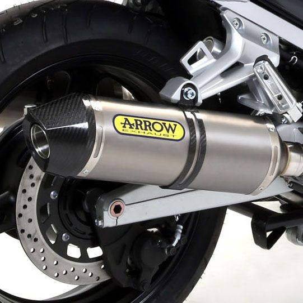 Yamaha FJR1300 ARROW Titanium / Carbon Silencers